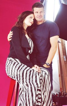Comic Con 2012 - Emily Deschanel and David Boreanaz