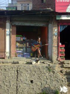Random guy captured during bus travel in #Nepal! Looking good Man!