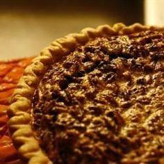 Chocolate Bourbon Pecan Pie - Allrecipes.com