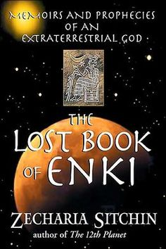 """From Zecharia Sitchin's bestselling series The Earth Chronicles. Provides humanity's side of the story concerning our origins at the hands of the Anunnaki-- """"those who from heaven to earth came."""" In The Lost Book of Enki we now view this saga from the perspective of Lord Enki, an Anunnaki leader revered in antiquity as a god, who tells the story of these extraterrestrials' arrival on Earth from the planet Nibiru. This relates to Queen Paubis' remains which is awaiting testing for proof of…"""