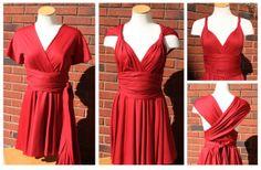Sew Like My Mom | Infinity Dress tutorial +++