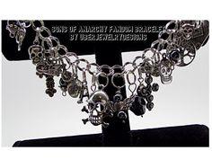 Sons of Anarchy Fandom Tribute Jewelry by Uberjewelrydesigns, $29.99