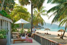 The Surin Phuket is one of the most luxurious beachfront resorts in Phuket, Thailand