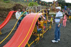 Alcaldía de Pereira entrega parque infantil en el barrio Alto de Los Ángeles