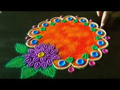 Tips For Taking Digital Photography Indian Rangoli Designs, Rangoli Designs Latest, Latest Rangoli, Rangoli Designs Images, Beautiful Rangoli Designs, Diwali Special Rangoli Design, Small Rangoli Design, Diwali Rangoli, Diwali Craft
