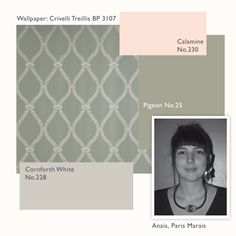 Colour Consultants - 10 ways with wallpaper | Farrow & Ball