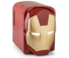From Thinkgeek:  To clarify: this is NOT the Stark Industries pneumatic cooler Tony Stark demos in Iron Man that he says he'll be throwing in with every p