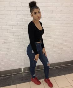 To School Outfit for graders ♕? School starts in 90 days, meaning it's already time to Lit Outfits, School Outfits, Outfits For Teens, Dope Outfits, Edgy Teen Fashion, Girl Fashion, Fashion Outfits, Fashion Clothes, Picture Day Outfits