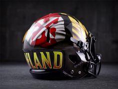 "Maryland football unveils new red ""Pride"" uniforms New Nfl Helmets, College Football Helmets, Football Ticket, Football Tops, Football Is Life, Football Uniforms, Team Uniforms, Memphis Tigers"