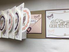 Circle Card Mini Album - Geburtstag Nr. 2 ~ STEMPEL...und deine Ideen werden wahr...