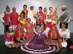 Peruvian folkoric costume