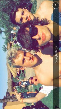#WesleyStromberg #Coachella #Emblem3