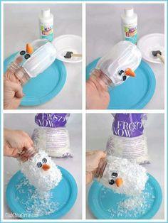 Snowman illuminaries