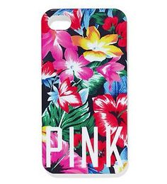 Pink floral iPhone cases