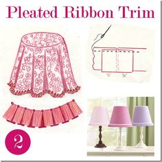 Pleated Ribbon Trim