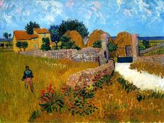 Vincent van Gogh, Farmhouse in Provence, 1888.