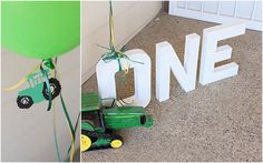 john deere birthday party idea... I will most certainly need this one day !