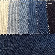 hand sourced denim swatches by thesaucesuppliers.com  supplier of custom made…