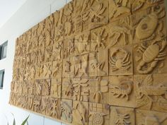wood carving relief sculpture