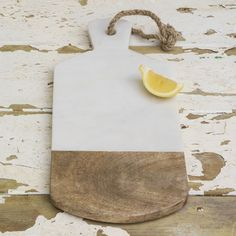 Two Tone Marble Chopping Board/Serving Platter