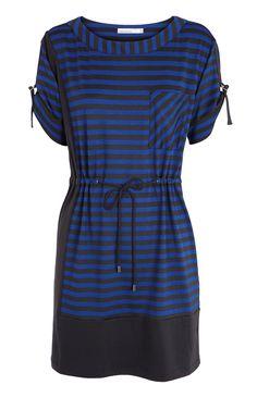 Karen Millen Jersey Stripe Dress [#KMM047] - $84.66 :