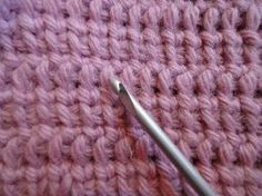 Tunisian crochet with an air loop (IN RUSSIAN - If you are familiar with Tunisian Crochet you can watch this video to learn this stitch... The video is very good... Deb)