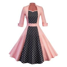 Women Clothing Pin Up Vestidos Spring Autumn Retro Casual Party Robe Rockabilly Dress Vintage Midi Dresses Pink XL Pink Midi Dress, Belted Dress, The Dress, Dress Long, Sheath Dress, Tartan Dress, Skater Dress, Bodycon Dress, Vintage Midi Dresses