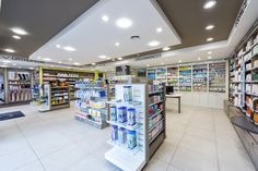 Dise o de farmacias pharmacy design drug for Boursin agencement
