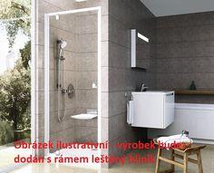 Ravak PIVOT PDOP 1 - 80 Bright alu+Transparent (leštěný hliník, čiré sklo) | Koupelny SEN Toilet, Sink, Bathtub, Bright, Bathroom, Home Decor, Sink Tops, Standing Bath, Washroom