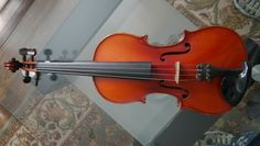 "Old Vintage Antique German ""Conservatory"" Stradiuarius violin c. Violin Case, Violin Bow, Wood Colors, German, Vintage, The Originals, Things To Sell, Deutsch"