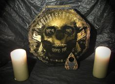 Skull Spirit Board by LordMock by LordMockDesigns on Etsy, $150.00