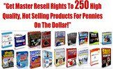 Thumbnail 250 Hot Selling Master Resell Rights Products