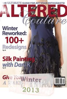 Altered Couture Magazine by Stampington - Transform Clothing into Wearable Art