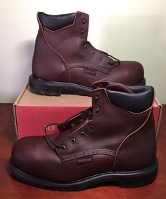 Red Wing Boots - On Hold For @dga802 Mens 13D logger style lace up ...