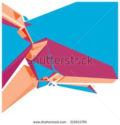Geometric design abstract background for poster