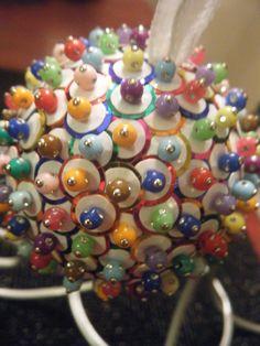 Ornaments by Megan -Sequin Christmas Ornament
