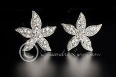 Starfish Beach Wedding Hair Pins