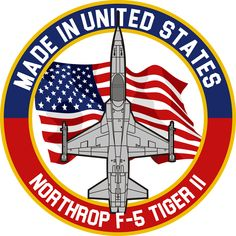 Northrop F-5 Tiger II - Made in USA