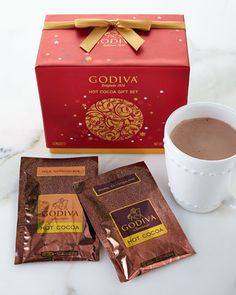 Holiday Hot Cocoa Collection by Godiva at Neiman Marcus.