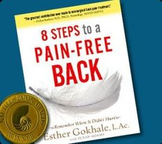 "I recently picked up 8 Steps to a Pain-Free Back by Esther Gokhale because I was intrigued by something I noticed on the back-cover: ""Forget what you thought you knew about good posture.  Adopt the natural, healthy posture used by athletes, children, and people in traditional societies the world over.  Free yourself from pain and injury."""