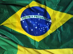 #brazil #brazilian flag #decoration #flag #green blue yellow #landesfarben #national colours #national flag #olympiad in brasil #ordem e progresso #soccer fan articles