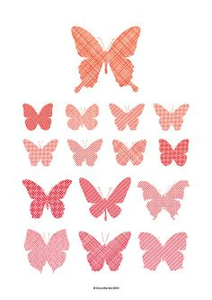 flutter by.: Butterfly Specimens Print ~ One Little Bird by cindy feng Diy Flowers, Paper Flowers, Fun Crafts, Paper Crafts, Butterfly Birthday, Beautiful Butterflies, Print And Cut, Illustrations Posters, Paper Art