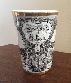 1904-ST-LOUIS-WORLDS-FAIR-Souvenir-China-Glass-Tumbler-Made-in-AUSTRIA-RARE