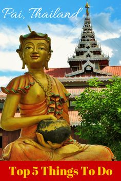 Pai is a MUST visit destination for anyone in northern Thailand. To visit it is to fall in love. Pai Thailand, Northern Thailand, Thailand Travel, Places To Travel, Places To Go, Thai Travel, Thailand Adventure, Wanderlust, Tutankhamun