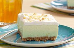 Find yourself on Cloud Nine with these 'Key Lime' Cloud Squares! The fluffy texture of these 'Key Lime' Cloud Squares will send you to dessert heaven.