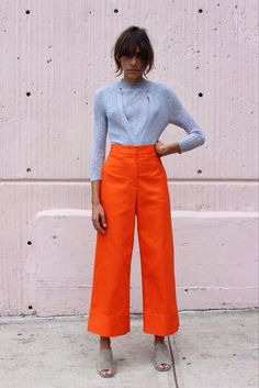 The complete Maryam Nassir Zadeh Spring 2015 Ready-to-Wear fashion show now on Vogue Runway. Looks Street Style, Looks Style, Style Me, Mode Outfits, Fashion Outfits, Womens Fashion, Fashion Tips, Fashion Trends, Fashion Ideas