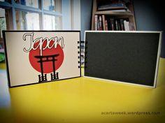 Cricut and Making Memories Slice: Epcot Mini Album JapanPages