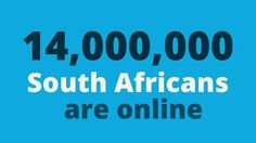 Growing Internet usage in South Africa Internet Usage, South Africa, African, Tech, Blog, Blogging, Technology