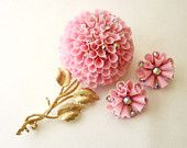 Give Her Flowers That Will Last A Lifetime...VJSE Treasury NOW on Etsy #vjse2 #vintage #jewelry