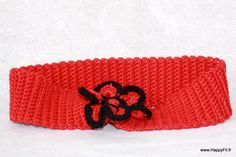 Bandeau au crochet bébé ou enfant en coton : Mode Bébé par happyfil